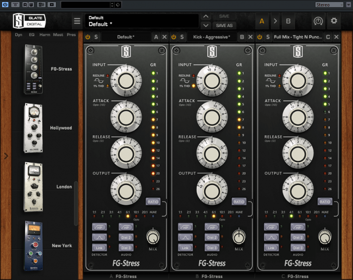 Slate Digital FG-Stress compressor plugin 20% off at ...