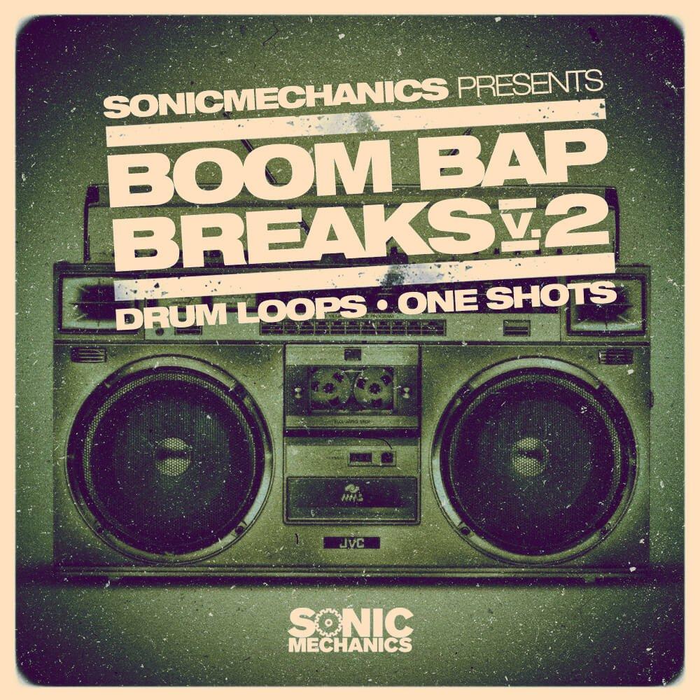 boom bap break vol 2 by sonic mechanics released. Black Bedroom Furniture Sets. Home Design Ideas