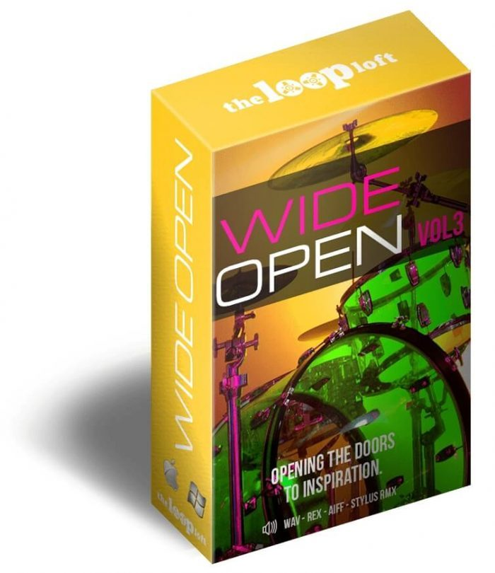 The Loop Loft Wide Open Drums Vol 3