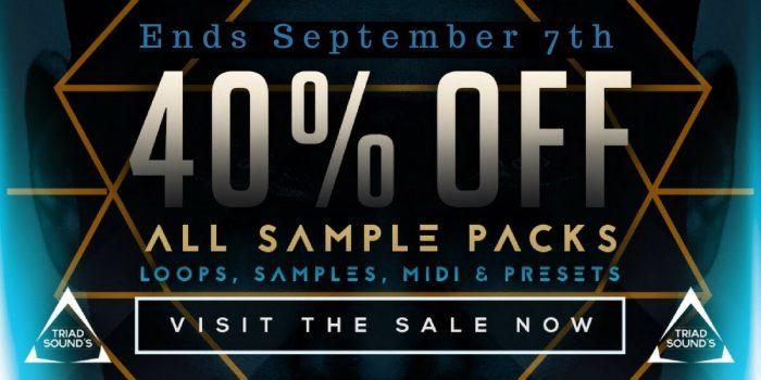 Triad Sounds 40 off sale