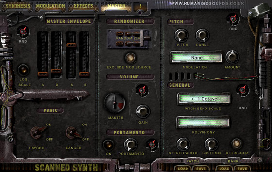Humanoid Sound Systems Scanned Synth Pro 2