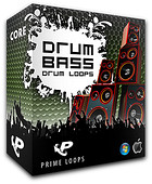 Prime Loops Drum n Bass Drum Loops