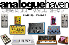 Analogue Haven Summer Sale 2009