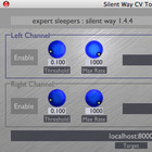 Expert Sleepers Silent Way CV to Osc