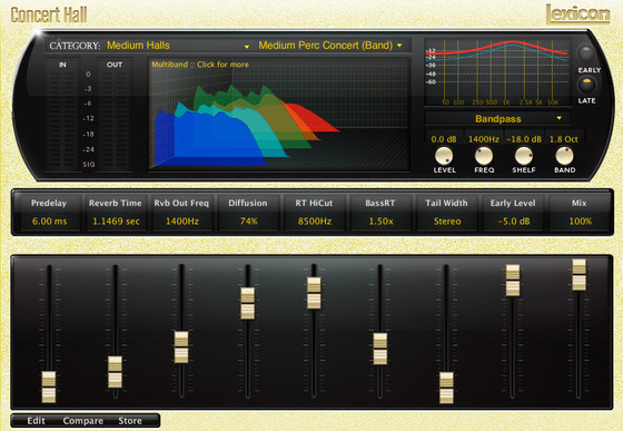 Lexicon PCM Native Reverb Plug-in Bundle