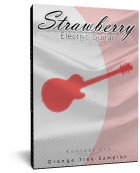 Orange Tree Samples Strawberry Electric Guitar