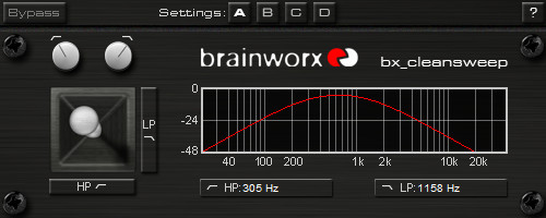 Brainworx bx_cleansweep