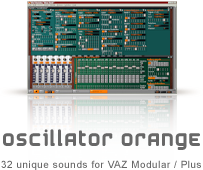 TeamDNR Oscillator Orange