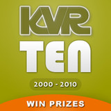 KVR Audio 10 Year Anniversary