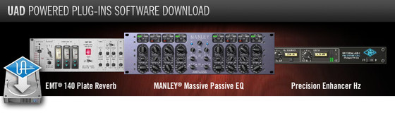 UAD Software v5.6.0