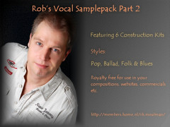 Rob's Vocal Samplepack Part 2