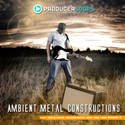 Producer Loops Ambient Metal Constructions Vol. 3