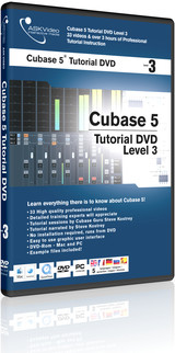 ASK Video Cubase 5 Tutorial DVD Level 3