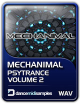 Dance Midi Samples Mechanimal: Psytrance Samples Vol 2