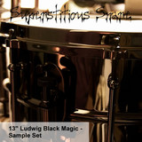 Eric Beam Superstitious Snare - 13″ Ludwig Black Magic Snare