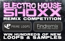 FindRemix & Prime Loops Electro House Shoxx Remix Contest