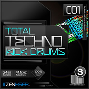 Zenhiser Total Techno Kick Drums