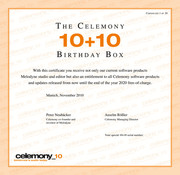 Celemony 10+10 Birthday Box