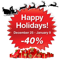Little Endian Happy Holidays Sale