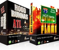 P5Audio Dirty South Hot-Lanta Flame & Hood Runnas ATL