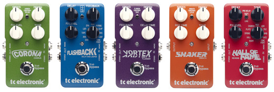 TC Electronic TonePrint guitar pedals
