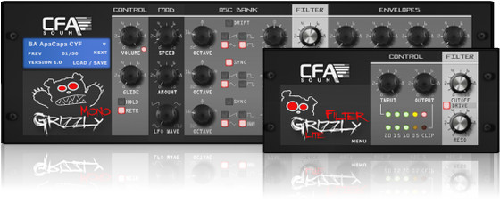 CFA-Sound MonoGrizzly and FilterGrizzly LITE