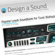 Design a Sound Popular Leads for Toxic Biohazard