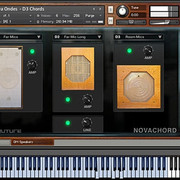 Soniccouture Novachord with Ondes speaker modification