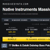 MassiveSynth Massive Dubstep Bass Pack