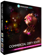 Producer Loops Commercial Dirty South Vol 1