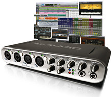 Avid Pro Tools MP 9 with Fast Track Ultra