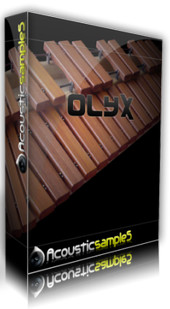 Acousticsamples Olyx, virtual xylophone sound library for