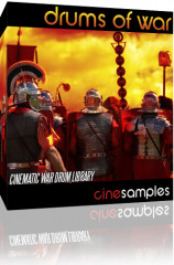 Cinesamples Drums of War for Kontakt
