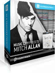 Toontrack Music City Presets - Mitch Allen