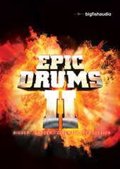 Big Fish Audio Epic Drums II
