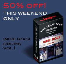 The Loop Loft Indie Rock Drums Loops Vol 1