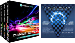 Producer Loops Dance Glitch Bundle / Zebra 2.5 Rate Of Motion