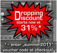 Brainworx Dropping Discount
