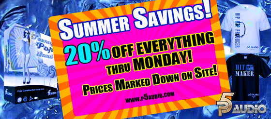 P5Audio Summer Savings