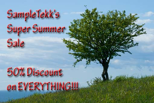 SampleTekk Summer Sale