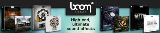 Boom Library at Time+Space