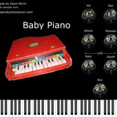 Les Productions Zvon Baby Piano VSTi