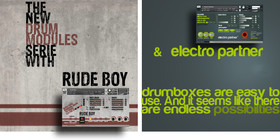 Cinematique Instruments Drum Boxes: Electro Partner / Rude Boy