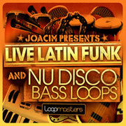Loopmasters Live latin Funk and Nu Disco Bass Loops
