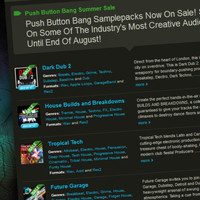 Loopmasters Push Button Bang Summer Sale