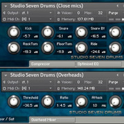 Sound Refinery Studio Seven Drums