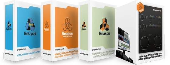 Propellerhead Reason 6, Reason Essentials and Balance