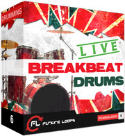 Future Loops Live Breakbeat Drums