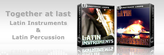 Soundtrack Loops Latin Percussion & Instruments