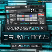 Loopmasters Grid Machine Slice V1 Drum and Bass